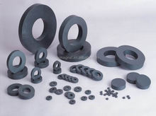 Various shaped ferrite magnets