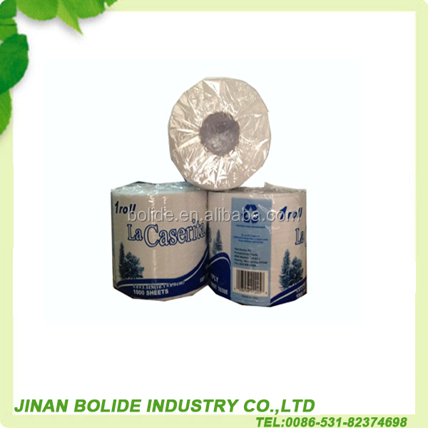 2ply virgin wood pulp toilet tissue
