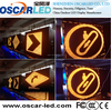china www xxx dot com P10 single color outdoor led display traffic/road sign led display