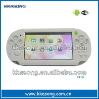 "Hot selling 4.3"" android4.0 game player"