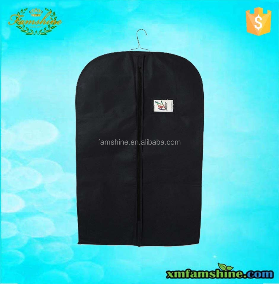 promotion non woven garment bag suit cover
