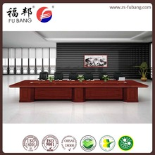 High-end luxury 12-seater conference office meeting table and desk
