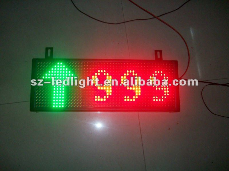 16*48 moving led parking display