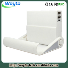 Unique design innovation products foldable stand power bank 8800mah