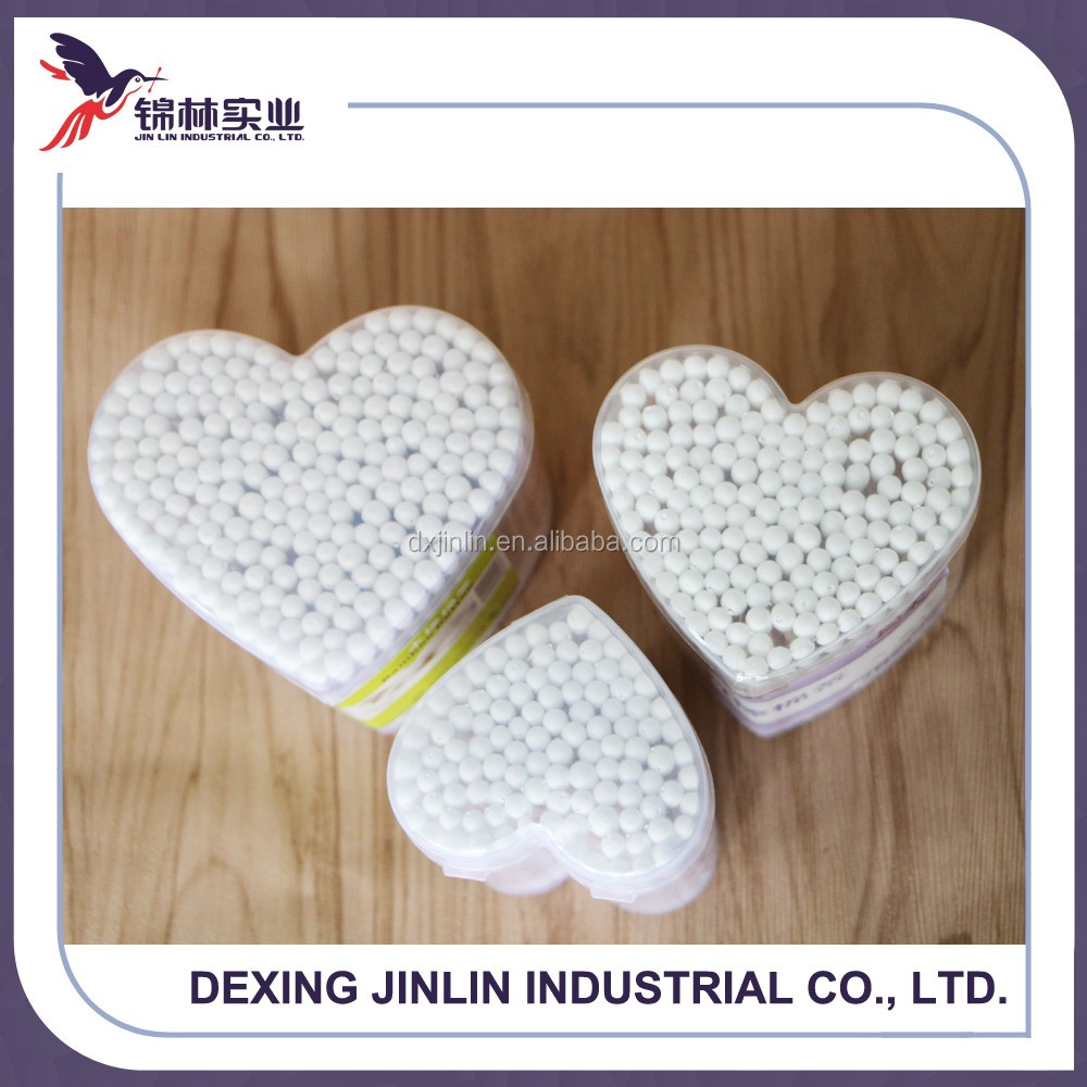 200pcs wooden StickCotton Buds/Cotton Swabs/Qtips-Heart Shaped Box