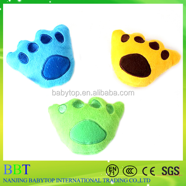 toy market guangzhou china shop supplier footprint pet dog squeaky toy