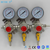 1 way co2 regulator 2 way outlet co2 regulator co2 gas regulator for beer beverage aquarium use