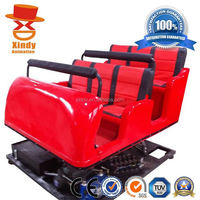 2013 oversea hot removable animation amusement equipment motion hydraulic auto truck mobile 9d cinema for sale