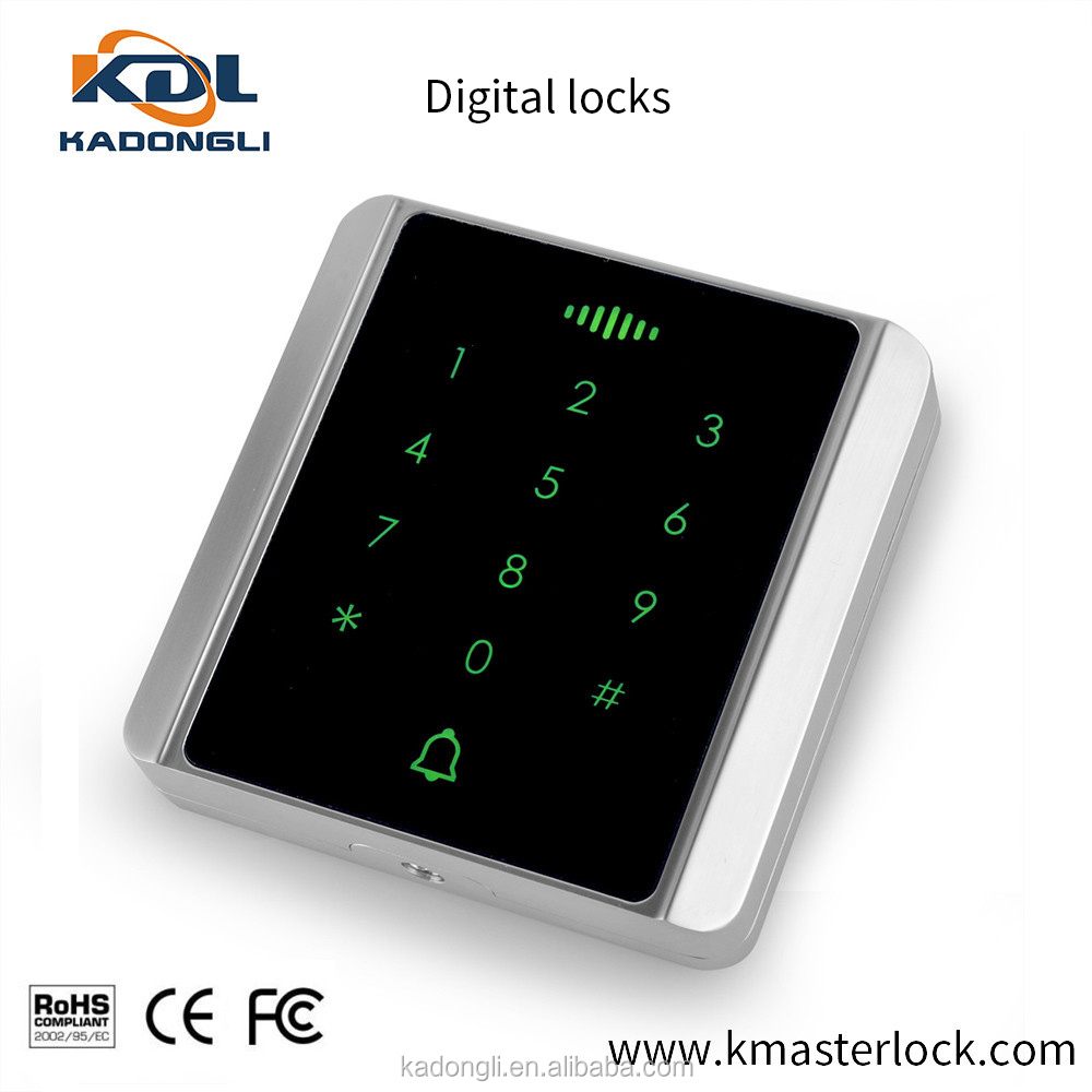 IP65 waterproof numeric metal switch keypad access control
