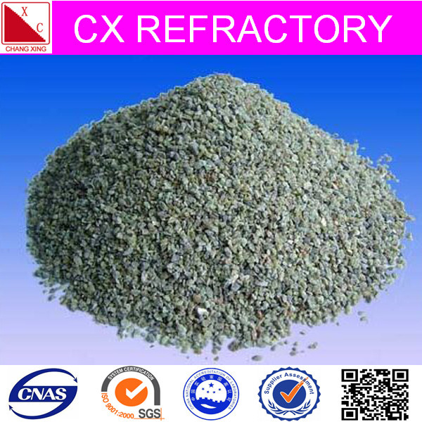 green refractory clay