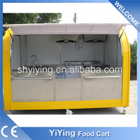 2016 New condition YiYing YY- FS290APromotion Mini open wing van truck , Food trucks sale