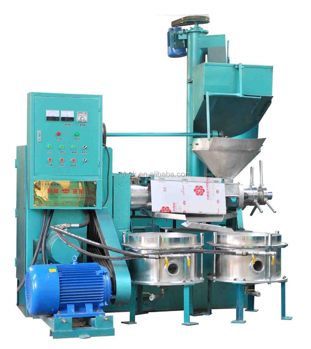 Peanut hemp seed oil press machine