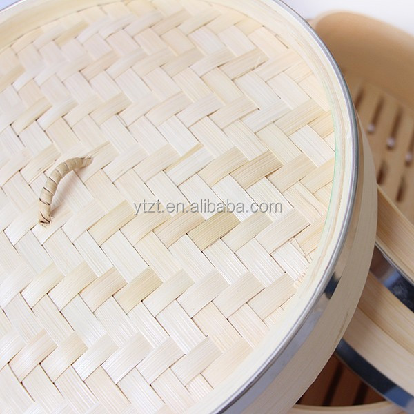 Bamboo electric dim sum steamer