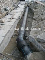 PN6, PN8 Hdpe Sewage pipe for drainage industry