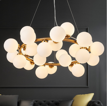 Magic Bean Modern LED Pendant Chandelier Lights with G4 Glass Chandelier Lamp Fixtures