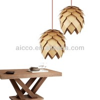 Hot Sell Modern Wooden Pinecone Bamboo