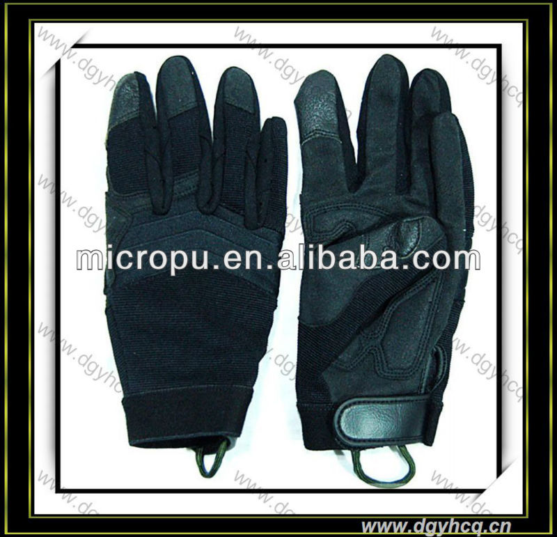 100 PU synthetic leather upper for glove