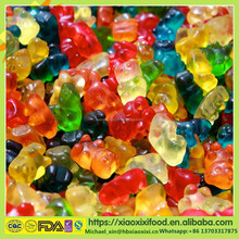 Delicious fruit flavor gummy candy assorted Flavor Gummi Bears