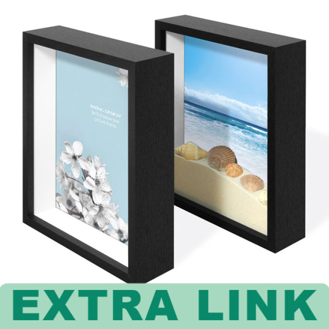 Cardboard White Shadow Box Frames Wholesale