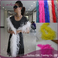 Wholesale new fashion ostrich feather scarf