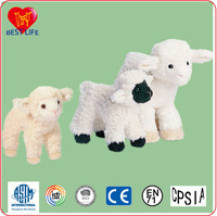 plush sheep toy animals custom plush toy stuffed baby lamb toy (PTAL0816158)