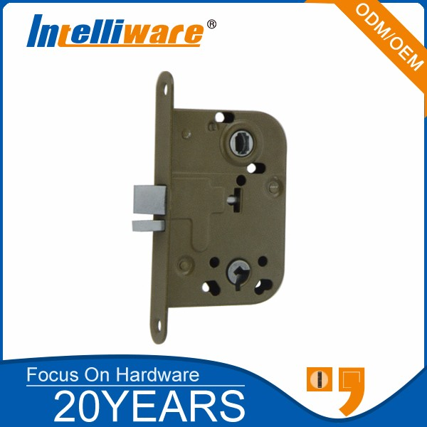 Euro style safe hotel door lock