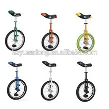 16'' 18'' 20'' one wheel freestyle bmx self balancing unicycle exercise bike