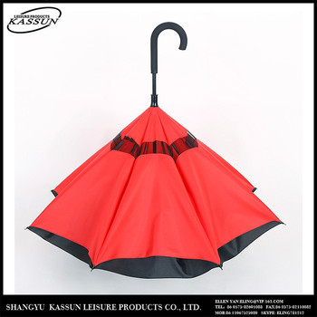 Professional made luxury logo printed colorful full body umbrella for sale.