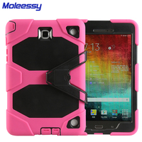 Drop resistance custom unique universal rugged tablet case for samsung T550 silicon case