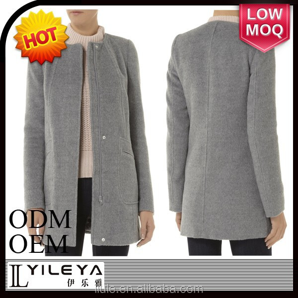 fashionable warm worsted the latest coat styles for women