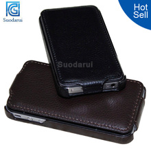 Mix colors Luxury Leather flip Cover case For apple Iphone 4s