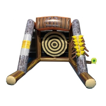 2019 New Inflatable Axe Throwing Games 2 Players Inflatable Challenge Axe Throwing Game for Kids And Adults