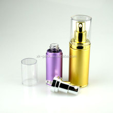 aluminum airless pump bottles