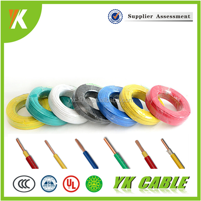Color code roll power wire electrical 1.5mm single core cable