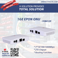 FTTH Solution 1GE Data Port EPON ONU ZTE Chipset Routing Feature GEPON Terminal Box FTTH Solution Support Port Rate Limiting