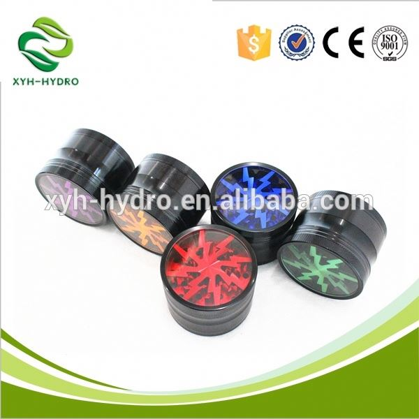 New 2017 Wholesale high quality weed plastic grinder Professional Manufacturer