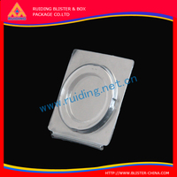 Easy folding Jiangmen factory cost save blister packaging with cardboard