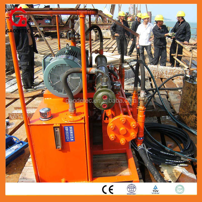 GEC large flow waterproof Cement hydraulic grout pump for sale