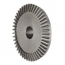 Custom steel ring straight bevel gear for motorcycle high precision manufacturer