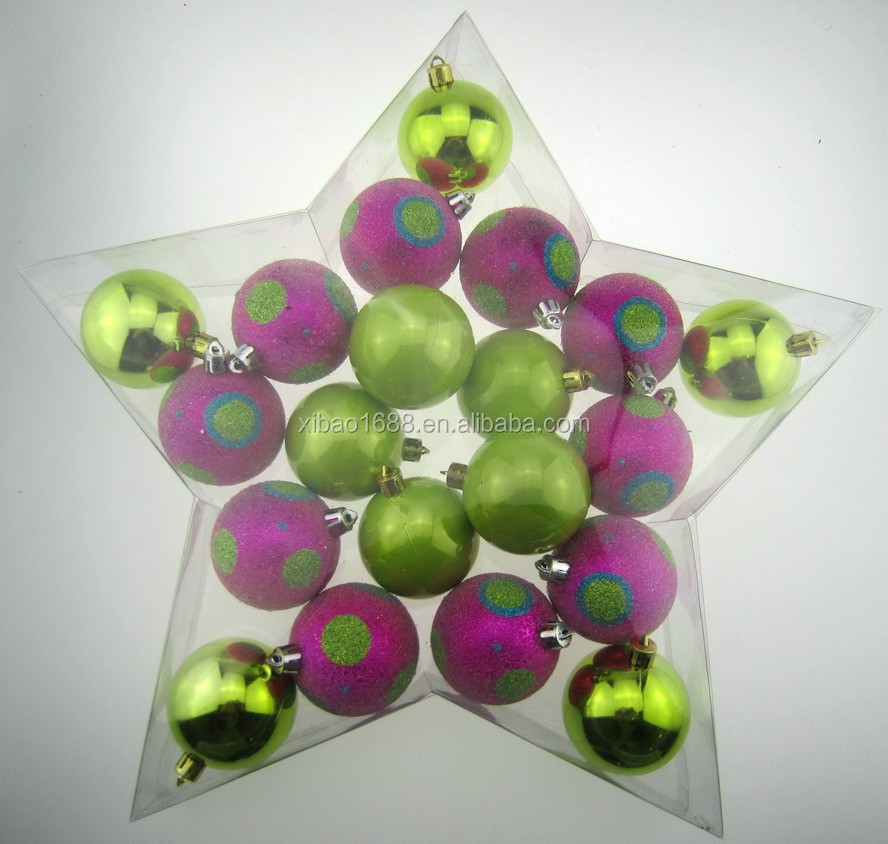 Top quality Christmas ball wholesale shatterproof christmas ball ornaments