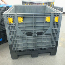 Folding Box Pallet 1200 X 1000 foldable large container With 2 Doors