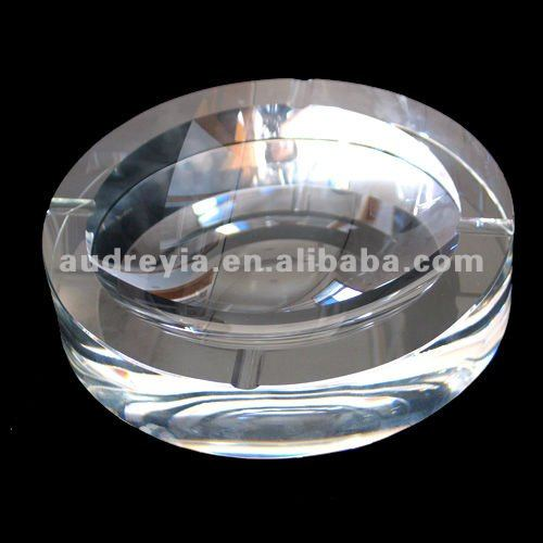 Round lead crystal ashtray,crystal products