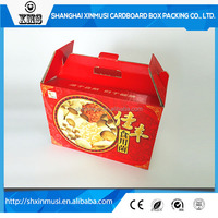 Mushroom packaging box with handle