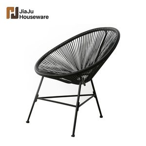 Wholesale high quality simple style garden use furniture leisure rattan outdoor acapulco chair