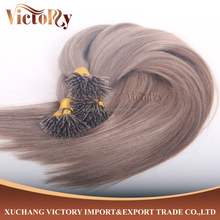 8A Grade #18 color 1.0 g/strand silky straight Micro Nano Hair 60 cm with wholesale price