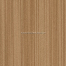 2016 new arrival brown strip design non-woven wallpaper from Guangzhou