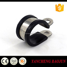 China Baojun Stell Rubber Galvanized Wire Rope Cross Clamp