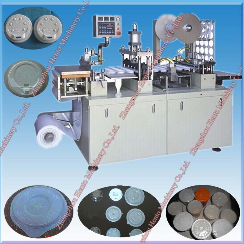 Hot Sale Automatic Plastic cup Lid Making Machine With Low Price