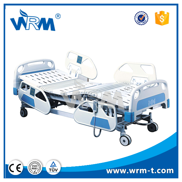 Central braking system Braking system homecare bed electric adjustable pediatric hospital bed head panel