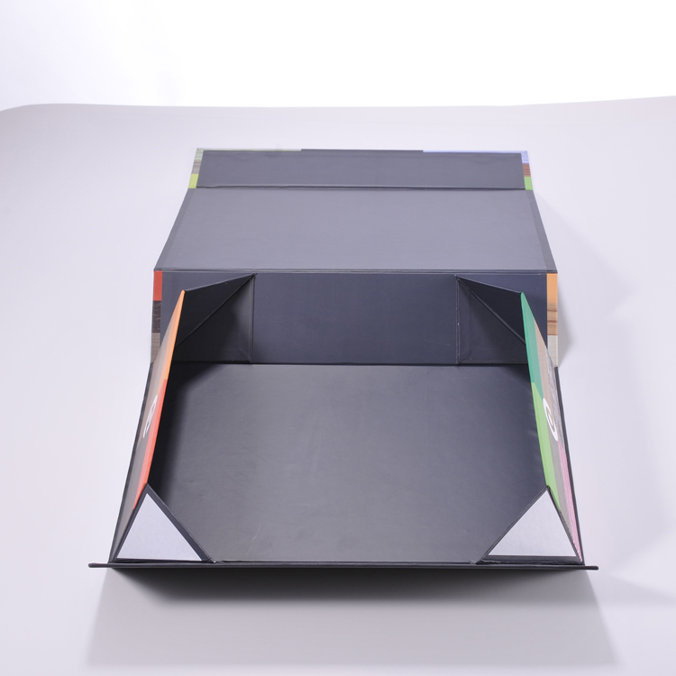 Custom made white folding paper boxes